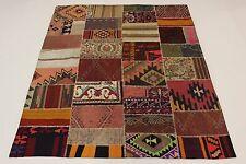 Nomades Kilim Patchwork Antiquité Regardez Persan Tapis D'Orient 2,25 X 1,85