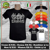 T-SHIRT BODYBUILDING LEGENDS BODY BUILDING VINTAGE MR.OLYMPIA UOMO DONNA BAMBINO