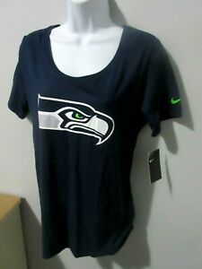 NWT Womens Nike Seattle Seahawks NFL Football T-Shirt Tee Jersey  sz. M  NEW!