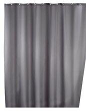 Wenko 20044100 Rideau de douche en Textile Gris…