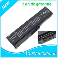 Batterie 5200mAh pour ordinateur portable TOSHIBA Satellite L775-11N, L735-108