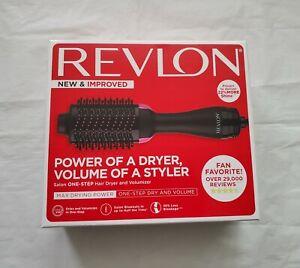 Revlon Pro Collection One-Step Hair Dryer & Volumizer Hot Air Brush Black/Pink