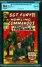 Sgt. Fury and His Howling Commandos #52 CBCS NM 9.4 Off White to White