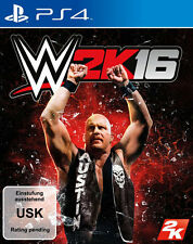 Sony PS4 Playstation 4 Spiel ***** WWE 2K16 * 2016 * 16 *****************NEU*NEW