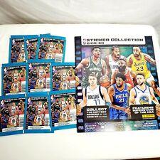 2019-20 PANINI NBA STICKERS WITH ALBUM 9 PACKS Basketball