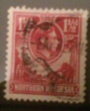 NORTHERN RHODESIA 1938-1952 DEFINS SG29 USED CAT £50