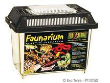 3x Extra Large EXO Terra Faunarium Plastic Terrariums