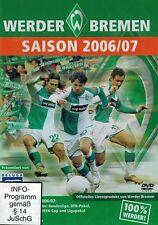 DVD NEU/OVP - Werder Bremen - Saison 2006/07