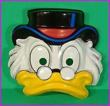 * Scrooge McDuck Walt Disney Adult Costume Face Mask by Ben Cooper 52831 NEW *