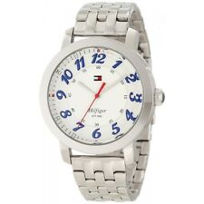 New Tommy Hilfiger Women Stainless Steel Band Dress Watch 39mm 1781216 $105