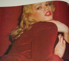 VOL. 2 # 17/ BRIGITTE LAHAIE 5 MINI POSTERS + SUPER GIANT 2 SIDED POSTER!!! Rare