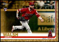 Jared Walsh 2019 Topps Update 5x7 Gold #US59 RC /10 Angels
