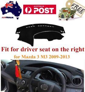 Dash Dashboard Mat Console Carpet Sun Protector For Mazda 3 2009-2013