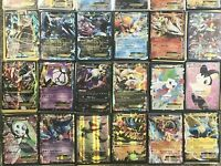 Pokemon Card Lot 100 Official TCG Cards Ultra RARE Included | GX EX or Mega EX -