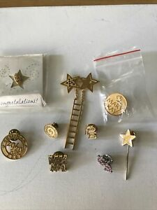 Mary Kay Collectible pins Lot of 9