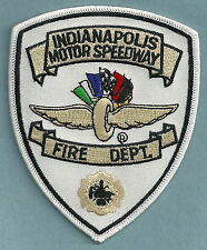 INDIANAPOLIS MOTOR SPEEDWAY INDIANA FIRE DEPARTMENT PATCH