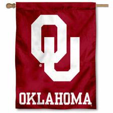Flag W//Grommets Oklahoma Sooners 2-Sided 3 Ft X 5 Ft
