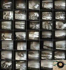 Fischer Ordentlich 16mm Film Um 1940 Fischerei Auf Hochsee Fischer Alltag Reichsanstalt Rwu #3 Alte Berufe