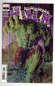 Immortal Hulk 1 NM+ 9.6  Marvel Comics