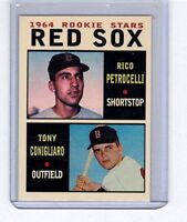 Rico Petrocelli & Tony Conigliaro '64 Boston Red Sox rookie stars Pastime #1