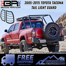 Body Armor 4X4 Tail Light Guard Set 05-15 Toyota Tacoma TC-7136 Black