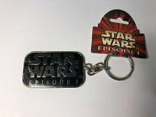 90s Vintage Star Wars Episode 1 Keychain