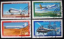 B0 185  BERLIN 1980 Michel 617 - 620 Jugend Luftfahrt gestempelt, ESST