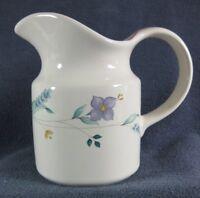 Pfaltzgraff April Creamer Pitcher 10 oz Stoneware Floral Pastel