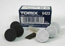 REPLACEMENT Cleaning Heads 8pce suit TOMIX Tomytec Track Cleaner N 1/160 6423