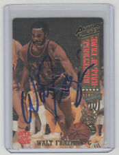 WALT FRAZIER Signed 1993 Action Packed Basketball #1 Autograph ON CARD AUTO