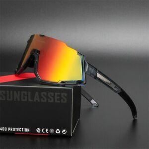 Comaxsun Polarized 3 Len Cycling Glasses MTB Road Sports Sunglasses UV400 822