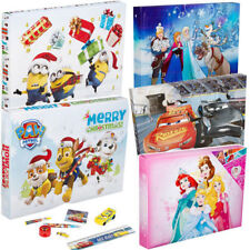 kids boys girls xmas gift advent calender with magic toys accessories *
