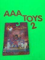 "Disney Aladdin JASMINE in Red from TV Series  Action Figure Mini 3"" PVC MOC 1993"