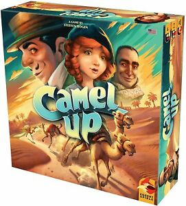 Camel Up Board Game: 2nd Edition - New and Sealed