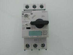 Siemens Sirius  3RV1021-OHA10  Leistungsscahlter mit Meldekontakt 0,55-0,8A