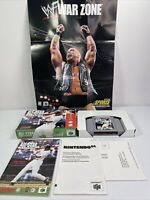 All Star Baseball 99 Nintendo 64 N64 Complete Tested Works 2-Sided Poster #0985