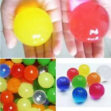 50pcs Large Ball Crystal Mud Gel Ball Mix colors Soil Water Beads DIY Home Decor