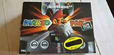 * Nintendo 64 Console Mario Pak * NEW Old Stock * Boxed N64 Pack * PAL version *
