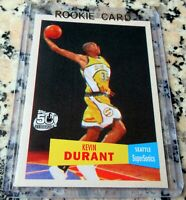 KEVIN DURANT 2007 Topps #1 Draft Pick RETRO 1957 SP Rookie Card RC 2x Finals MVP