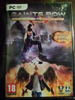 SAINTS ROW IV 4 RE ELECTED & GAT OUT OF HELL First Edition PC Nuevo castellano..