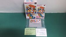 SNES - SUPER GUSSUN OYOYO - Boxed. Super famicom. Japan. Can be data save! 15326