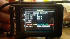 Divesoft Freedom Closed Circuit Trimix Nitrox Dive Computer Rebreather OC CCR