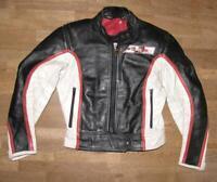 """ Dainese "" Damen- Motorcycle  kombi  Leather Jacket Biker Black White Approx."