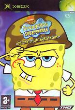 Spongebob Squarepants : Battle for Bikini Bottom (Microsoft Xbox, 2003) - North American Version