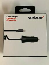 Verizon Car Charger Lightning USB Cable For Apple iPhone XS XR Max 8 6 7 Plus