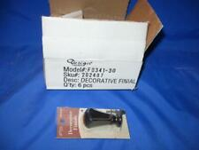 """New listing 6 Each Lamp Finials Decorative & Stylish Lamp Part - New In Package - 2 1/4"""""""
