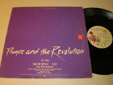Prince and the Revolution: Take Me With U 12""
