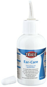 Trixie Pet Ear Care Cleansing & Cleaning Dog Cat Rabbit Drops Pet Healthcare
