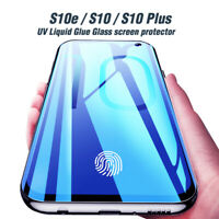 Fingerprint Unlock Tempered Glass Screen Protector For Samsung Galaxy S10+ S10e