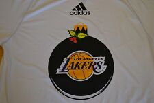 LA Lakers Christmas Ornament Climalite T-Shirt By Adidas Men's Size: Large NWT